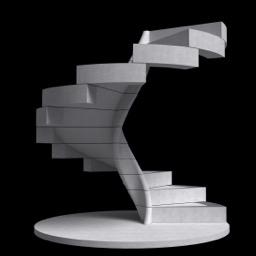 Arquitecto subraya la elegancia de escaleras de caracol