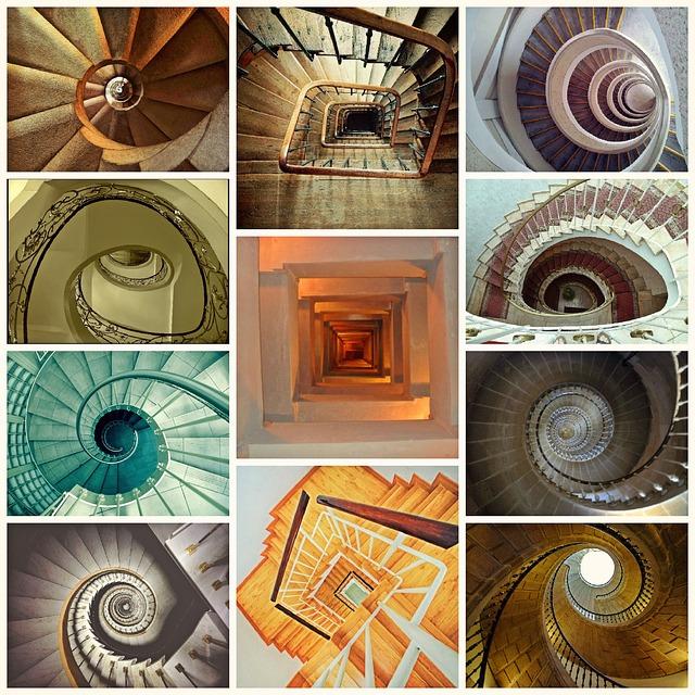 Arquitecto Alberto Sanjurjo estudia escaleras de caracol