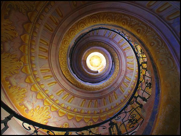 escaleras de caracol ms bonitas