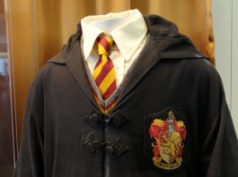 Uniforme escolar de Harry Potter
