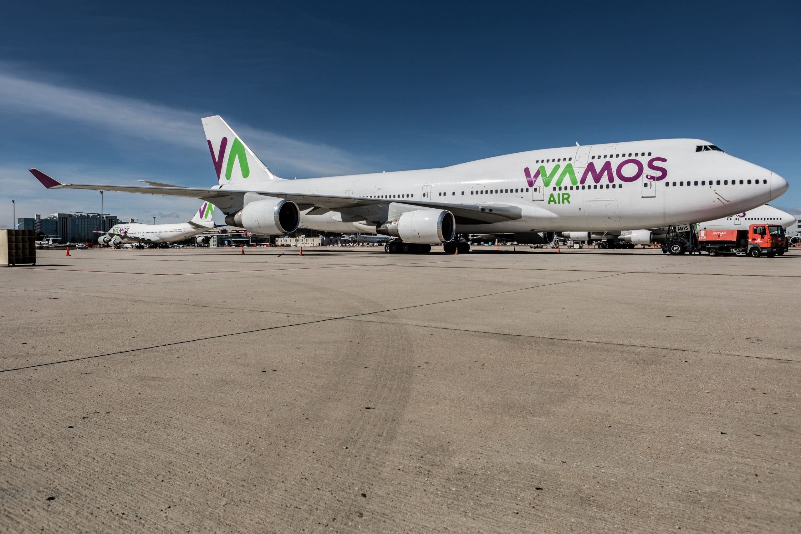 Transporte carga Wamos Air