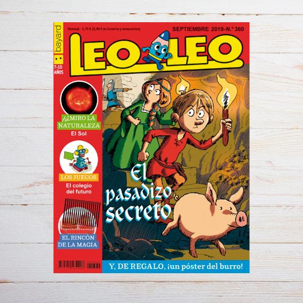 Un niño prefiere leer una publicación de Bayard Revistas a ver la televisión.